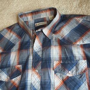 Roper Western Pearl Snap Shirt Button Down